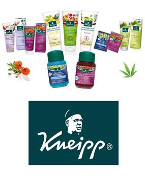 Kneipp - изцяло натурални козметични продукти