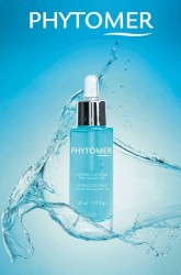 hydracontinue-12h-moisturizing-flash-gel with water